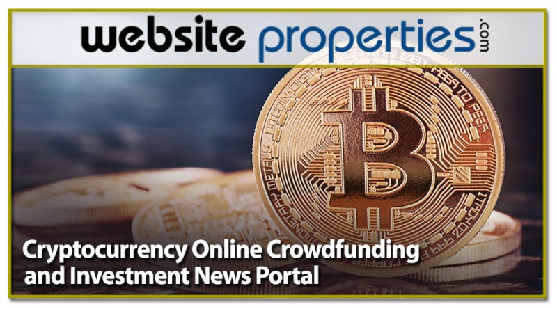 Cryptocurrency Online Crowdfunding And Investment News Portal