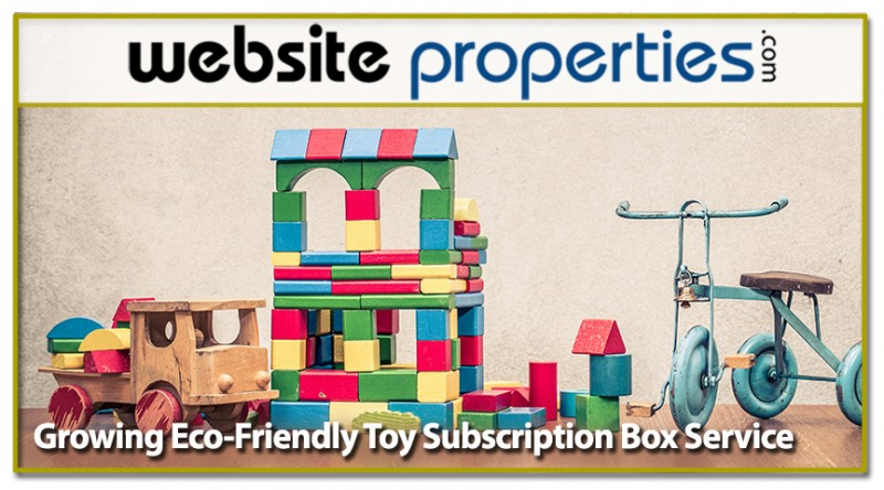 Growing Eco-friendly Toy Subscription Box Service