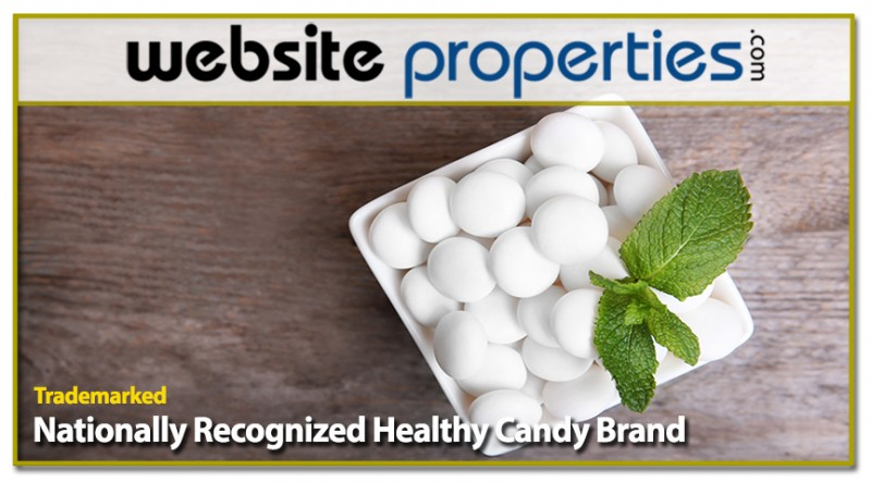Trademarked Nationally Recognized Healthy Candy Brand