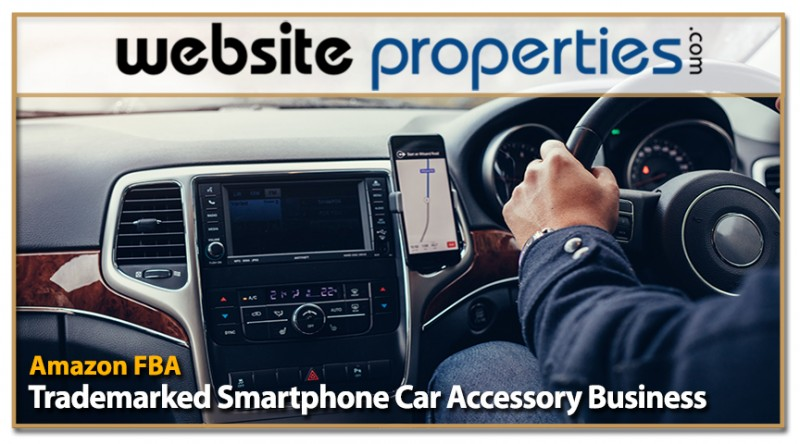 Trademarked Smartphone Car Accessory Amazon Fba Business