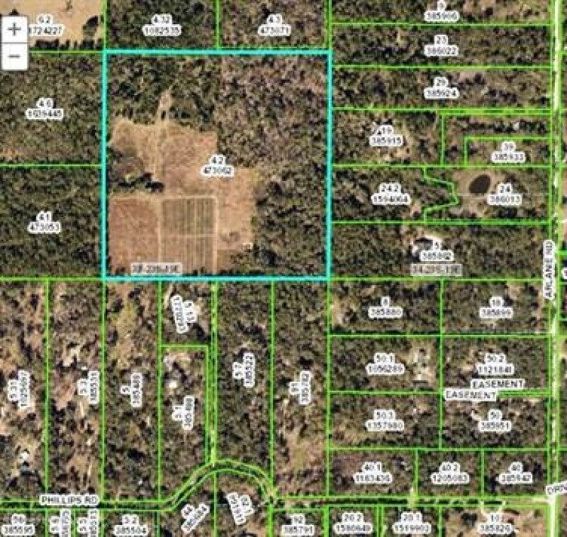 Land For Sale In Brooksville, Florida, $399,900