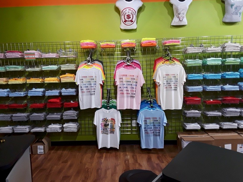Custom Apparel Printing Franchise For Sale, $149,000