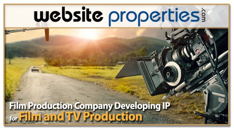 Film Production Company Developing Ip For Film And Tv Production