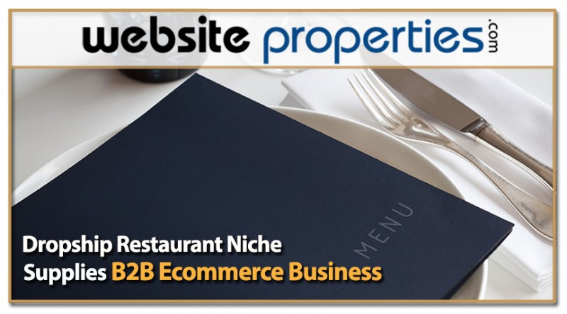 Dropship Restaurant Niche Supplies B2b Ecommerce Business