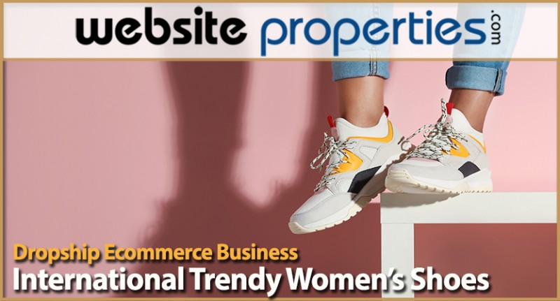 Dropship International Trendy Womens Shoes Ecommerce Business