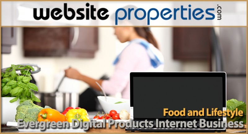 Food And Lifestyle Evergreen Digital Products Internet Business
