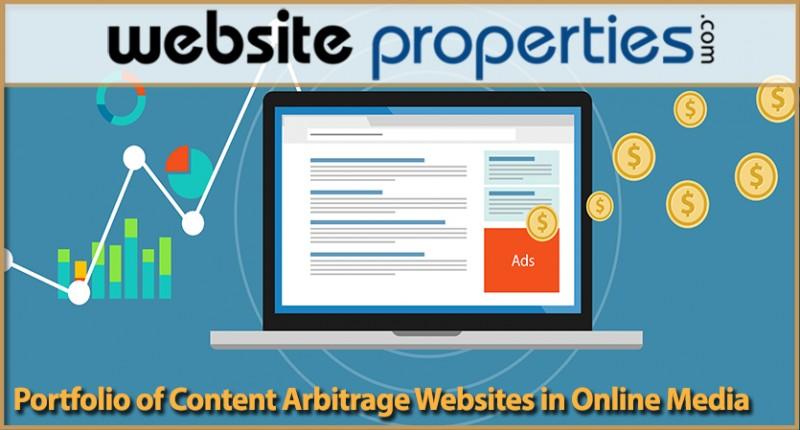 Portfolio Of Content Arbitrage Websites In Online Media