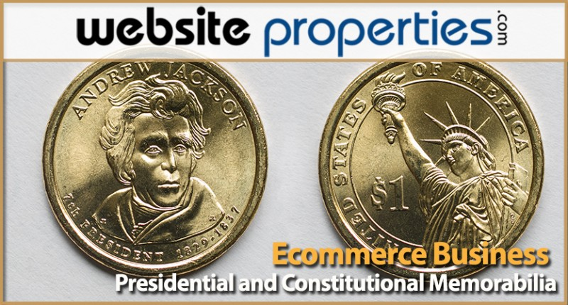 Presidential And Constitutional Memorabilia Ecommerce Business
