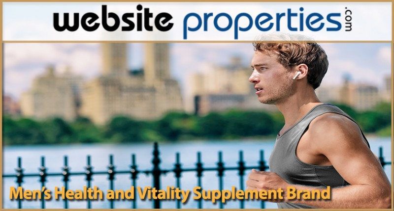 Mens Health And Vitality Supplement Brand