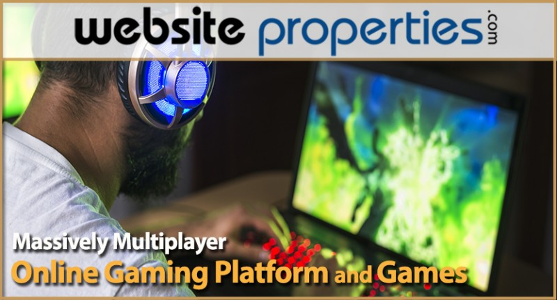 Massively Multiplayer Online Gaming Platform And Games