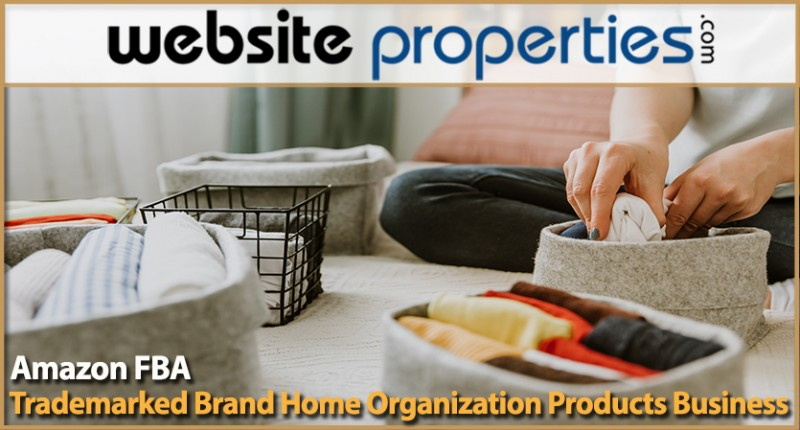 Amazon Fba Trademarked Brand Home Organization Products Business