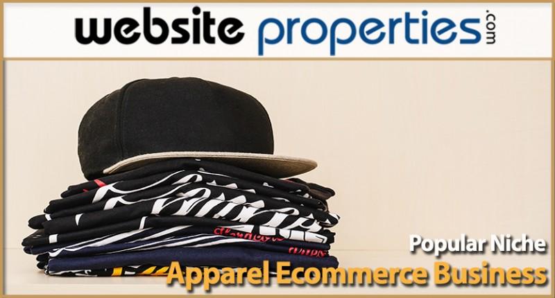 Popular Niche Apparel Ecommerce Business