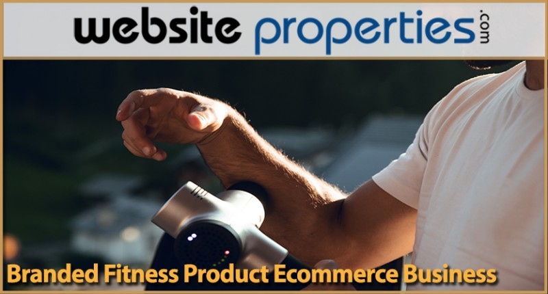Branded Fitness Product Ecommerce Business