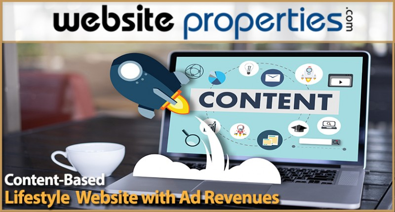 Lifestyle Content-based Website With Ad Revenues