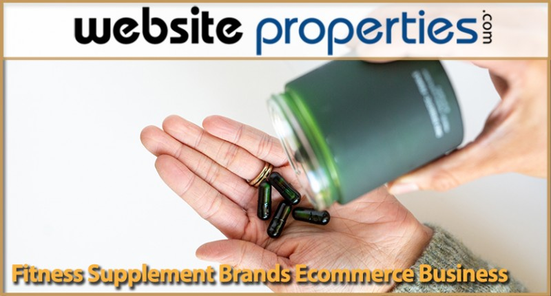 Fitness Supplement Brands Ecommerce Business