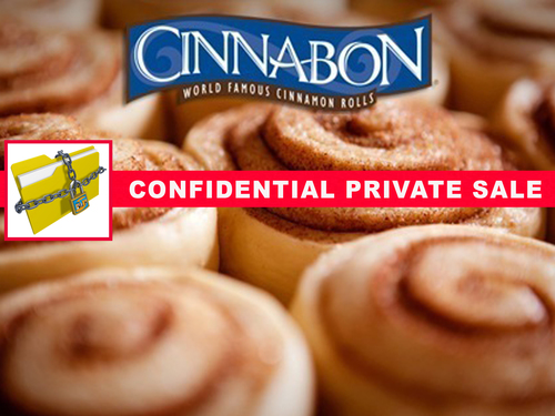 Cinnabon Bakery Franchise Large Shopping Mall!