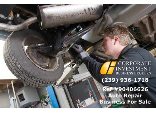 Auto Repair Business For Sale In Lee County