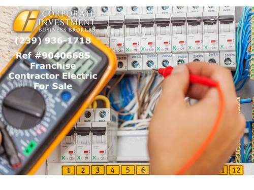 Franchise Electric Contractor Business For Sale