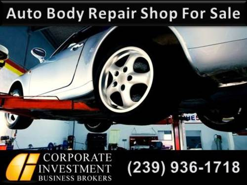 Auto Body Repair Shop For Sale In Lee County
