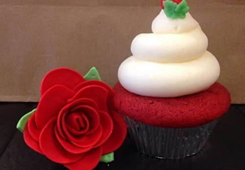 Bakery Specializing In Cupcakes And Fruit Bouquet