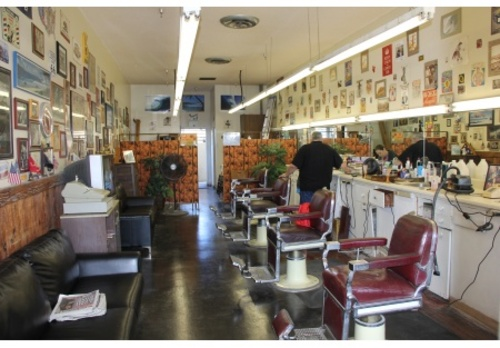 Barber Shop For Sale- Low Rent-lots Of Walk-in Traffic