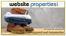 Dropship Branded Mens Apparel and Accessories W, Located in  Delaware