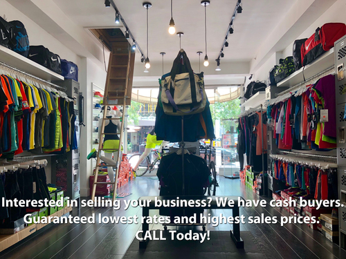 Profitable Sports Clothing, Footwear & Accessories Store