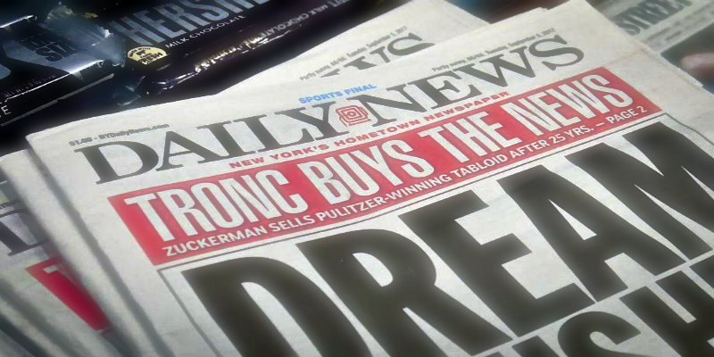 New Yorks Daily News Sold to The Los Angeles Times
